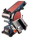 FERM Bandschleifmaschine - 350W - 150mm - einschl. 2 Schleifbänder...