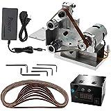 KKmoon Multifunktionsschleifer Mini Elektrische Bandschleifer DIY...
